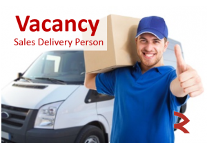 Delivery sales rep